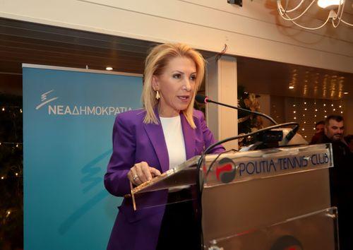 Ιωάννα Καλαντζάκου Ομιλία με Άδωνι Γεωργιάδη