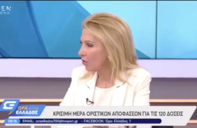 Ιωάννα Καλαντζάκου | Ώρα Ελλάδος 7 με τον Ιορδάνη Χασαπόπουλο και τον Γιάννη Σαραντάκο
