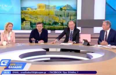 Καλαντζάκου στο Ώρα Ελλάδος 7 (2/4/2019)