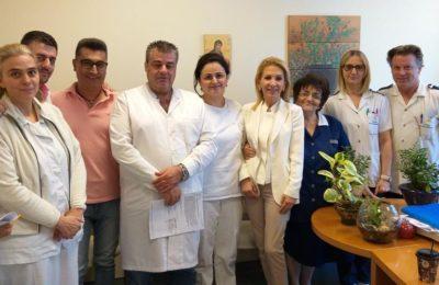 Ιωάννα Καλαντζάκου σε δημόσια νοσοκομεία