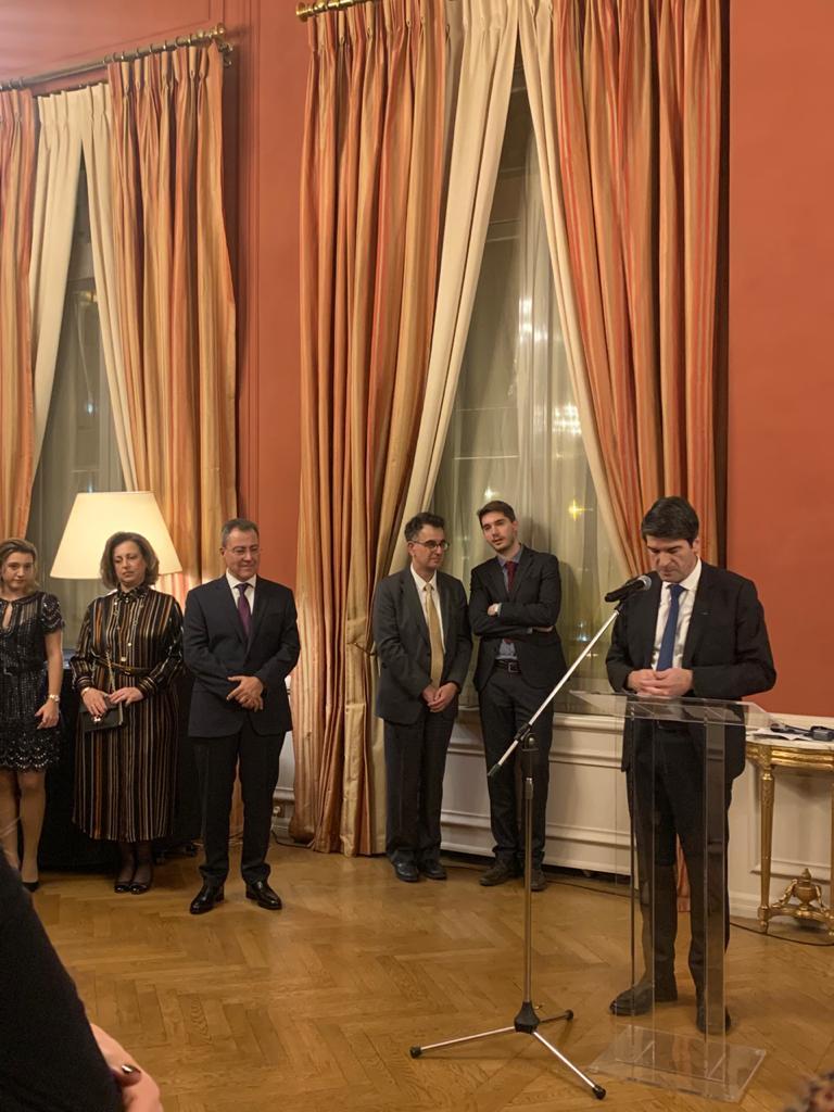 Εκδήλωση στη Γαλλική Πρεσβεία